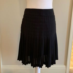 Adorable black pleated skirt by J Crew